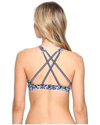 6917a156b8 Robin Piccone Penelope Crochet Dress Swim Cover Up in Blue - Lyst