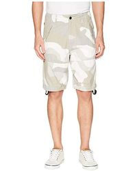 a7dd1e8d74 G-Star RAW Rovic Relaxed 1/2 Shorts In Raw Denim/light Aged Olive ...