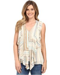 Miraclebody - Farah Cascade Front Blouse W/ Body-shaping Inner Shell - Lyst