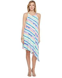 f5ced45350387c Lilly Pulitzer - Magnolia Midi Dress (multi Ceviche Stripe Diagonal) Dress  - Lyst