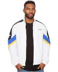 14f314cd18b4 Lyst - Converse Men s Blur Nylon Logo Jacket