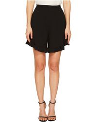 See By Chloé - Crepe Ruffle Shorts - Lyst