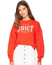 Juicy Couture - Juicy La Logo Terry Pullover - Lyst