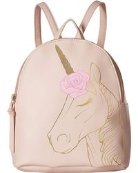 Lyst - Ralph Lauren Large Big Pony Backpack in Pink 729d628c546ce