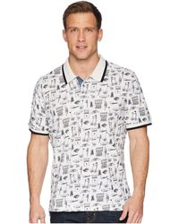 Robert Graham - Missile Short Sleeve Knit Polo - Lyst