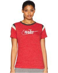 ee61c0f5a1d0 Nike - Gym Vintage Short Sleeve Hbr - Lyst