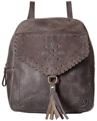 Born - Amherst Distressed Perforated Backpack - Lyst