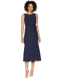 Lauren by Ralph Lauren - Tomara Sleeveless Day Dress - Lyst