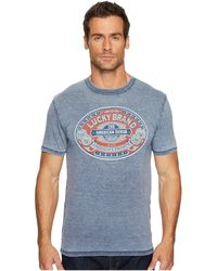 Lucky Brand - Lucky Denim Seal Graphic Tee - Lyst