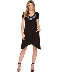 Karen Kane - Embroidered Hailey Dress - Lyst
