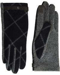 Lauren by Ralph Lauren - Plaid Rll Monogram Touch Glove - Lyst