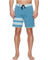 "Hurley - Phantom Block Party Solid 18"" Boardshorts - Lyst"