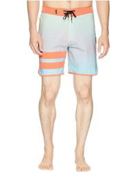 "Hurley - Phantom Static Block Party 18"" Boardshorts - Lyst"