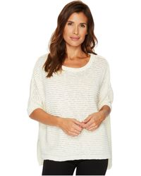 Two By Vince Camuto - 3/4 Sleeve Crinkle Yarn Dolman Sweater - Lyst