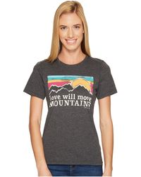 Life Is Good. - Mountains Sunset Stripe Cool Tee - Lyst