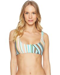 The Bikini Lab - South Beach Stripe Tank Bralette Top - Lyst
