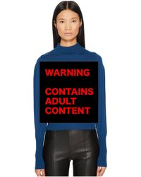 Jeremy Scott - Sex Is Cute Sweater - Lyst