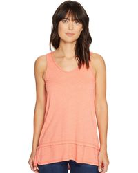 Mod-o-doc | Heather Jersey Banded Tank Top | Lyst