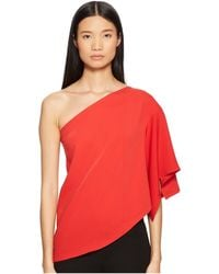 Yigal Azrouël - One Shoulder Top - Lyst