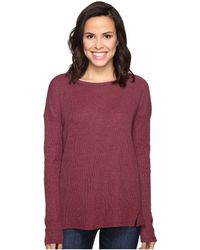 Brigitte Bailey - Keely Long Sleeve Top With Front Slits - Lyst