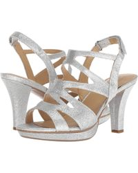 2a650f83dc11 Naturalizer - Pressley (taupe Leather) High Heels - Lyst. Naturalizer -  Pressley Sandals - Lyst