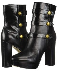 ad479d0ca83 Lyst - MICHAEL Michael Kors Maisie Bootie in Black