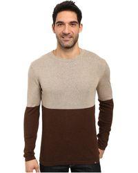 Prana - Color Block Sweater - Lyst