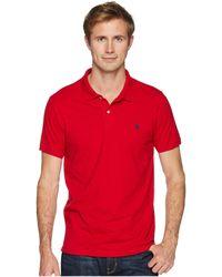 U.S. POLO ASSN. - Jersey Polo Shirt - Lyst