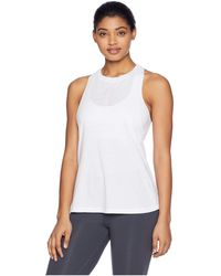 bf016492a12d63 Lyst - Reebok Burnout Tank Top in Green
