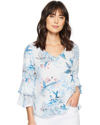 Kut From The Kloth - Vesna V-neck Top - Lyst