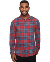Billabong - Freemont Flannel Long Sleeve Top - Lyst