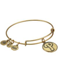 ALEX AND ANI - Mlb® Philadelphia Philliestm Charm Bangle - Lyst