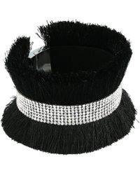 Guess - Wide Fury Bracelet With Pave Band - Lyst