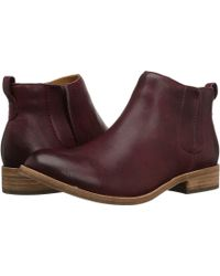 Kork-Ease - Velma Leather Ankle Boots - Lyst
