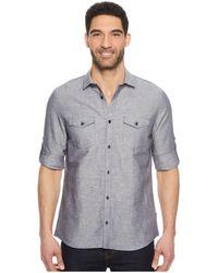 Calvin Klein - Roll-tab Woven Shirt - Lyst