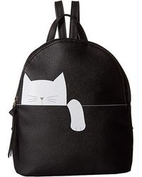 T-Shirt & Jeans - Hanging Cat Backpack (black) Backpack Bags - Lyst