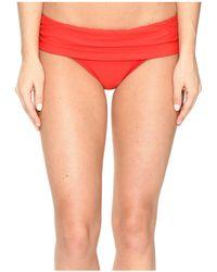Athena - Cabana Solids Lani Banded Bikini Bottom - Lyst