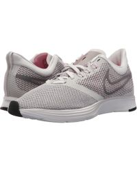 0301d8b0edcd Lyst - Nike Zoom Strike (summit White pink Blast vast Grey) Women s ...