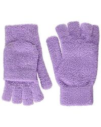 Steve Madden - Solid Magic Tailgate Itouch Gloves (lilac) Extreme Cold Weather Gloves - Lyst