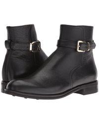 Del Toro - Leather Zip Chelsea Boot - Lyst