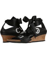 b3c7c6e06db Lyst - Børn B rn Emmy Wedge Sandal in Black