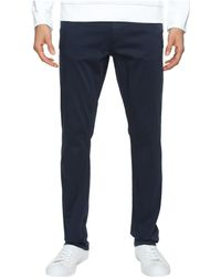 Calvin Klein Jeans | Slim Straight Stretch Sateen Pants | Lyst