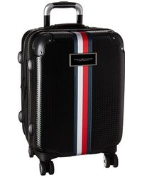 "Tommy Hilfiger - Basketweave 21"" Upright Suitcase - Lyst"