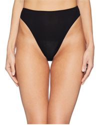 Only Hearts - Feather Weight Rib High Cut Brief - Lyst