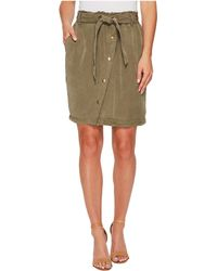 Splendid - Paperbag Waist Skirt - Lyst