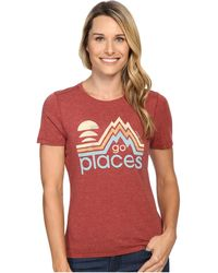 Life Is Good. - Go Places Mountains Cool Tee - Lyst