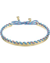 Rebecca Minkoff - Climbing Rope Whipstitch Collar Necklace - Lyst