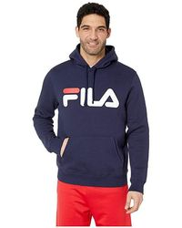9b6d7c3b Fila - Fiori Hoodie (navy/chinese Red/white) Clothing - Lyst