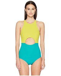 63e2eaf01d8 Flagpole Swim - Vera One-piece (key/seagreen) Swimsuits One Piece -