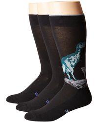 Hue - T-rex Socks With Half Cushion 3-pack - Lyst